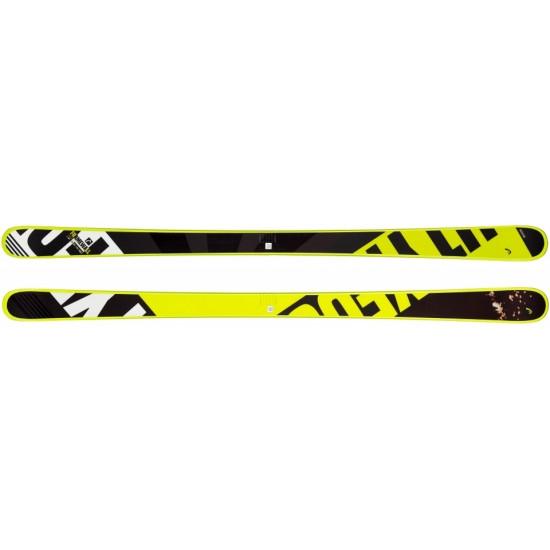 Горные лыжи Frame Wall black/neon yellow