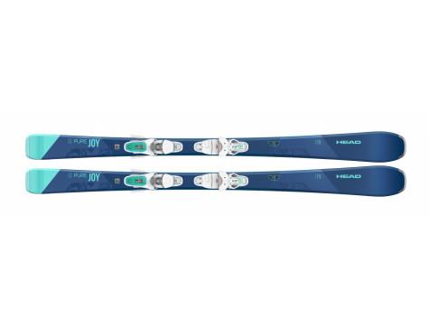 Комплект pure Joy SLR Joy Pro + JOY 9 GW SLR BRAKE 78 [H] (315700+100807) (горные лыжи+крепления гл) blue/turquoise