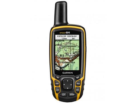 Кнопочный навигатор GPSMAP 64 Rus GARMIN