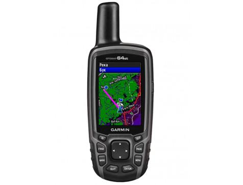 Кнопочный навигатор GPSMAP 64st RUS GARMIN