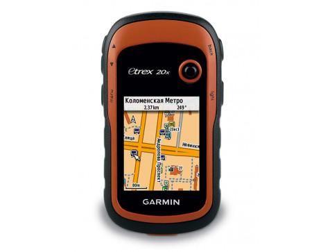 Кнопочный навигатор eTrex 20x GPS, GLONASS Russia  GARMIN