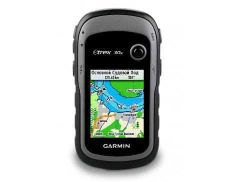 Кнопочный навигатор eTrex 30x GPS, GLONASS Russia GARMIN