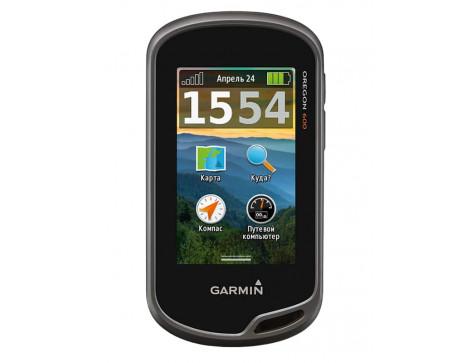 Навигатор с большим сенсорным экраном и картами Oregon 600t,GPS,Topo Russia GARMIN
