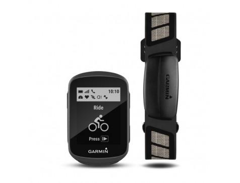 Велокомпьютер Garmin Edge 130,GPS, Europe, HR Bundle (010-01913-06)