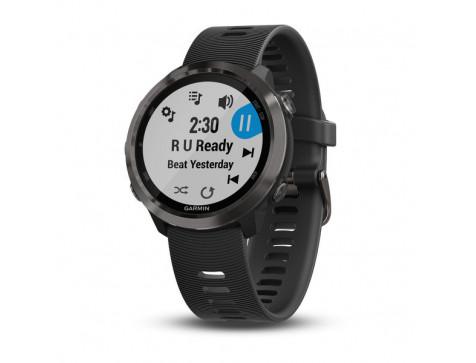 Беговые часы Garmin Forerunner 645 Music, GPS, EU/PAC, Slate (010-01863-32)