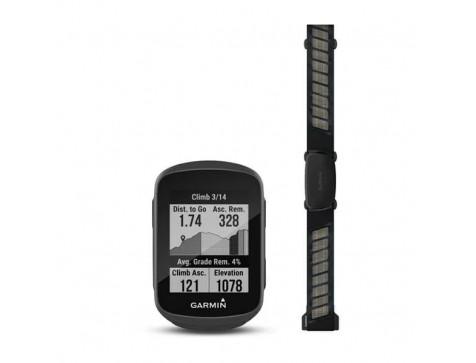 Велокомпьютер Garmin Edge 130 Plus Bundle GPS Europe (010-02385-11)